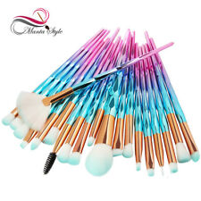 20Pcsx Diamond Makeup Brushes Set Powder Foundation Blush Blending Eye shadow Li