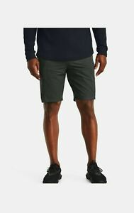 Under Armour Sportstyle Elite Cargo Mens Shorts Green Heat Gear STORM UA