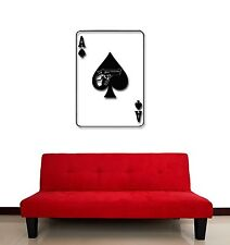 Wall Stickers Vinyl Decal Cards Poker Gambling Mafia Weapons Betting (ig731)