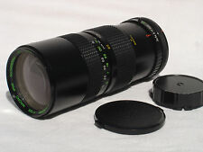 QUANTARAY 85-210 mm f 3.8 zoom lens w. MACRO for CANON FD mount camera