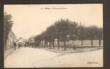 ORRY (60) ATTELAGES animé , Place de la MAIRIE en 1918
