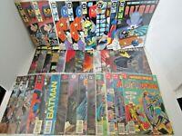 Batman 34 Comic Book Lot Bundle Annual Predator Jazz Adventures Rebirth