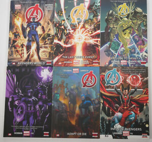 Avengers Volumes 1-6 Complete Collection HC Jonathan Hickman Marvel NOW!