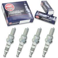 4 pc 4 x NGK Iridium IX Plug Spark Plugs 4218 CR8EIX 4218 CR8EIX Tune Up Kit ih