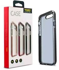 Tozo For Iphone 7 Case, Flex Hybrid High Quality Material, Black