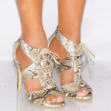 Unbranded Slim Lace-up Heels for Women
