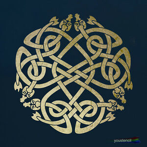 Celtic Knot Stencil:  For Walls, Furniture and Art  ST3