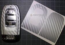 Carbon Anthrazit Folie Dekor Schlüssel Audi C A4 B8 S4 RS4 A5 S5 8T A6 S6 4F 4G