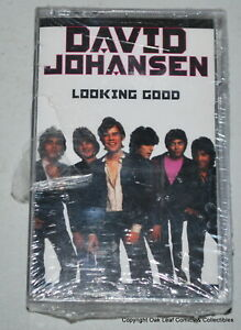 David Johansen Looking Good Cassette SEALED. See photo for play lists if visible