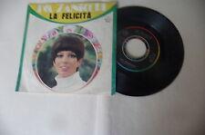 """IVA ZANICCHI"""" LA ELICITA'-disco 45 giri RIFI Italy 1968"""" PERFETTO"""