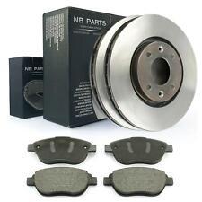 Bremsscheiben 283mm + Bremsbeläge vorne Citroen C3 C4 Xsara Peugeot 206 207 307