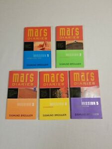 Mars Diaries Lot of 5 Books by Sigmund Brouwer #1-5 Paperback Sci-fi