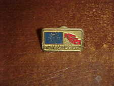1980 NCAA Final Four Basketball Media Press Pin Louisville Cardinals Champs UCLA