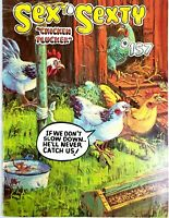 Sex to Sexty Magazine Chicken Plucker #157 Vintage Adult Humor 1982 Adults Only