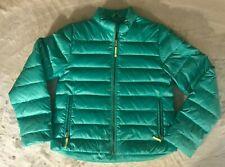 Crewcuts Green Puffer Coat Jacket size 14