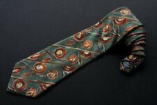 Ungaro Paris Necktie Tie Floral 100% Silk Made in Italy
