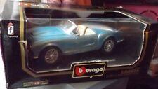 Burago 1/18 Lancia Aurelia B24 Spider (1955) Lgt Blue, Boxed, DieCast, Code 3010