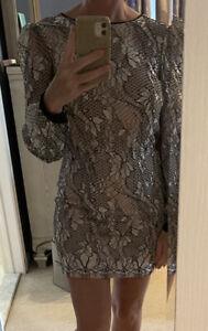 bebe long sleeve dress size 2