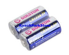 (2 Pack) CR123A Lithium Batteries CR123 CR-123A 123A for Surefire Flashlight