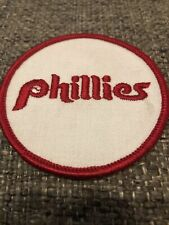 "Vintage Philadelphia Phillies Baseball 3"" MLB Team Jersey Logo Patch New"