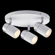 Paulmann IP44 Badezimmer Feuchtraumlampe 3x3,5W LED Rondell GU10 Feuchtraum ZYLI