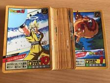 Carte Dragon Ball Z DBZ Super Battle Part 9 #Reg Set BANDAI 1994 MADE IN JAPAN