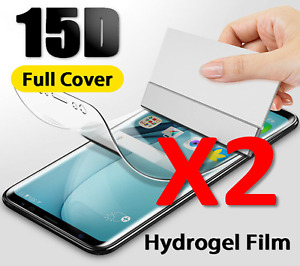 2X Hydrogel Film Screen Protector For Samsung Galaxy S21 ULTRA Full Cover