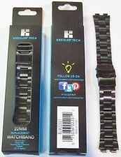 WHOLESALE LOT OF 96 BLACK METAL BRACELET SMART WATCH BANDS, $1.00 each