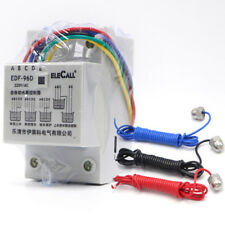 DF96D AC220V 5A Din Rail Mount Float Switch Auto Water Level Controller 3 Probe