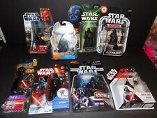 STAR WARS DARTH VADER LOT OF 8 FIGURES NEW SEALED MOSC MIB LOOK!