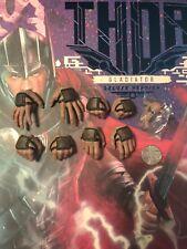 Hot Toys Thor Ragnarok Gladiador manos MMS445 X 8 & Clavijas Suelto Escala 1/6th