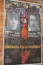 Used - Cartel de Cine  AMENAZA EN LA SOMBRA  Vintage Movie Film Poster - Usado