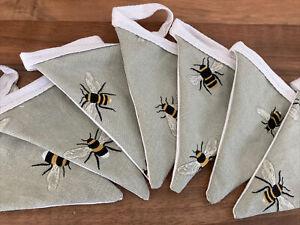 Handmade Bunting In Sophie Allport Bee Fabric