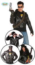 Biker Jacket rockerjacke Jacket Rocker Costume Men's Costume One Size