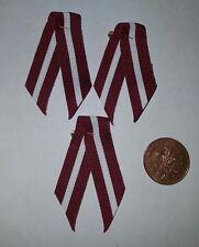 New Latvia Latvian Lettland Patriotic Flag Karogs ribbon Pin Badge x3