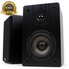 Original Micca MB42 Bookshelf Speaker Carbon Fiber Woofer Silk Tweeter Audio New
