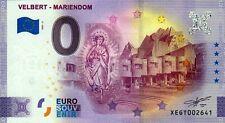 Null Euro Schein - 0 Euro Schein - Velbert - Mariendom 2021-2 Anniversary