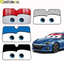 New Disney Big Eyes Pixar Cars Lightning Front Car Windshield Sun Shade 5 Colors