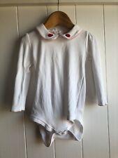 Baby Boden 18-24 Girls Ladybird Collared Vest