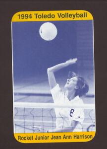 Toledo Rockets--1994 Volleyball Pocket Schedule--Culaine