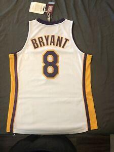 Kobe Bryant Mitchell & Ness 2003-04 White Alternate Jersey #8