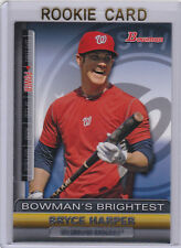 BRYCE HARPER 2011 Bowman's Brightest WASHINGTON NATIONAL ROOKIE CARD Baseball RC