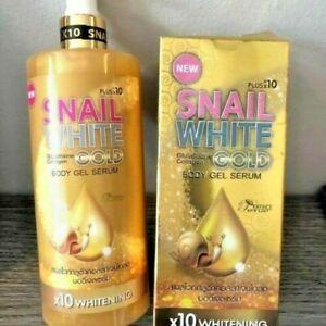 Snail White Gold Serum Glutathione Collagen Gold Body Gel Serum 500ml Au Seller