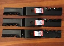 "CUB CADET Gator Blades for 50"" LT1050 LT1024 SLT1550 Star Hole NEW"