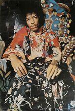 Jimi Hendrix Poster Rare Uppsala Sweden Colourful U 85