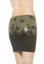 NWT LA PERLA $968 Ombre Sequined Skirt Sarong Cover Up Size 10