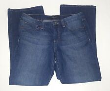 Nine West Santa Monica Boot Cut Jeans 8P 8 Petite 8/28 Blue Stretch Denim Pants