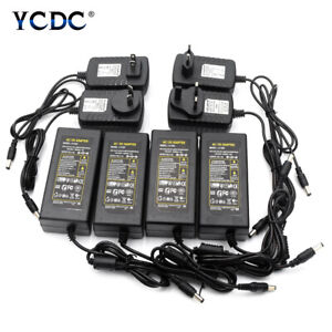 100-240V AC to DC Power Supply Charger Transformer Adapter 5V 12V 24V Output 30