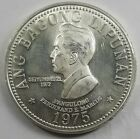 1975 Philippines 50 Piso Silver Coin Ferdinand Marcos