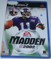 Madden NFL: 2002 - For Sony PlayStation 2